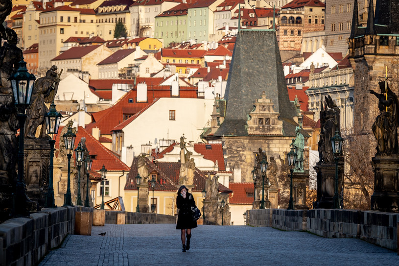 Most Karola w Pradze, Czechy /Lukas Kabon/Anadolu Agency /Getty Images