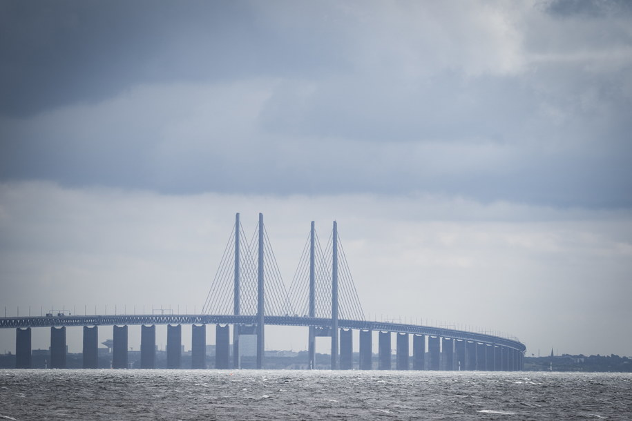 Most łączący Danię ze Szwecją /EPA/NIELS CHRISTIAN VILMANN /PAP/EPA