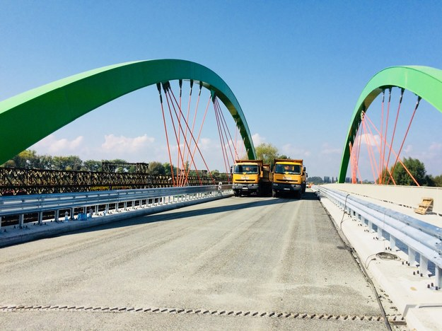 Most łączy brzegi Warty w ciągu drogi wojewódzkiej 710 /Agnieszka  Wyderka /RMF FM
