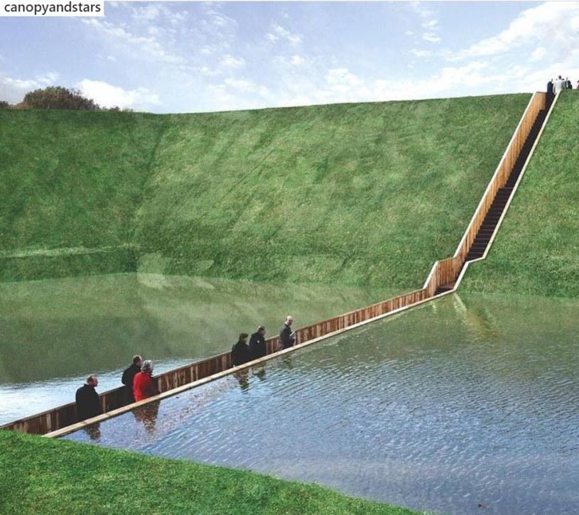 Most Mojżesza znajduje się w Halsteren w Holandii /Instagram