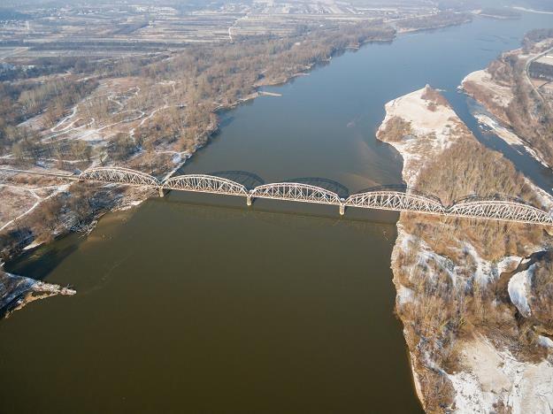 Most na Wiśle. Fot. Łukasz Szczepański /Reporter