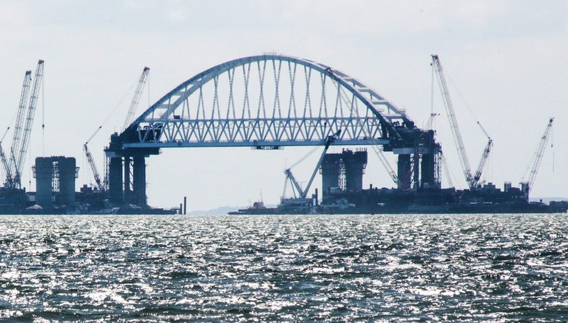 Most nad Cieśniną Kerczeńską /AFP