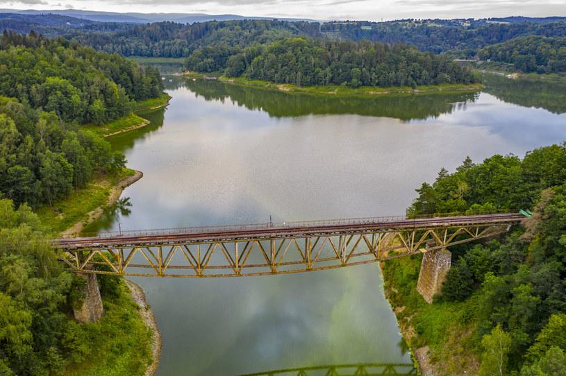 Most nad Jeziorem Pilchowickim /Robert Neumann /Agencja FORUM