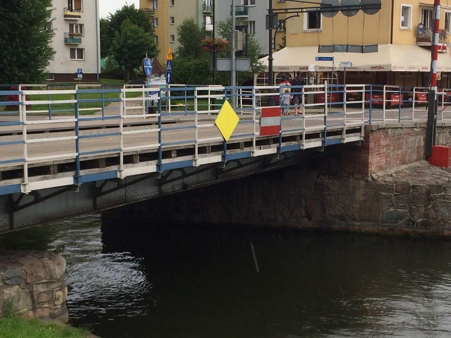 Most obrotowy w Giżycku /Piotr Bułakowski /RMF FM