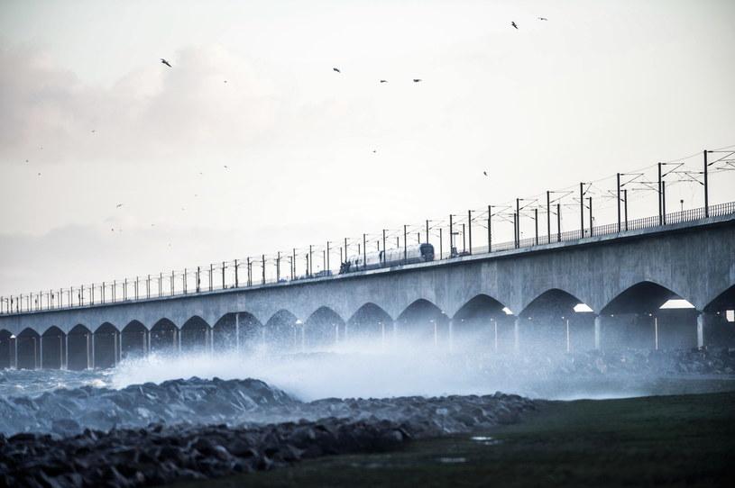 Most przez Wielki Bełt /TIM K. JENSEN /PAP/EPA