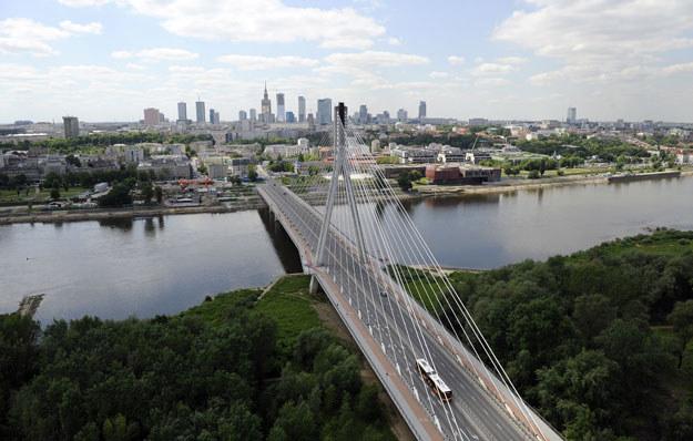 Most Świętokrzyski w Warszawie /Janek Skarżyński /AFP