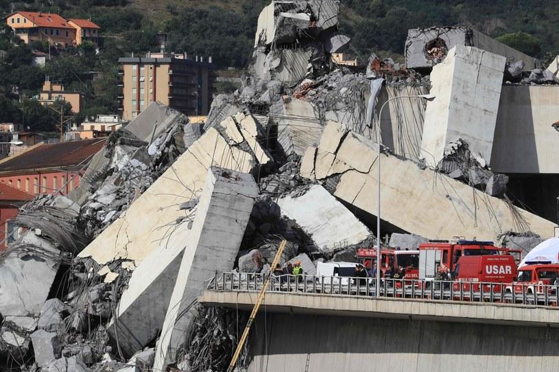 Most w Genui 14 sierpnia 2018 r. /AFP