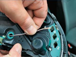 Mostkowanie kontrolek /Motor