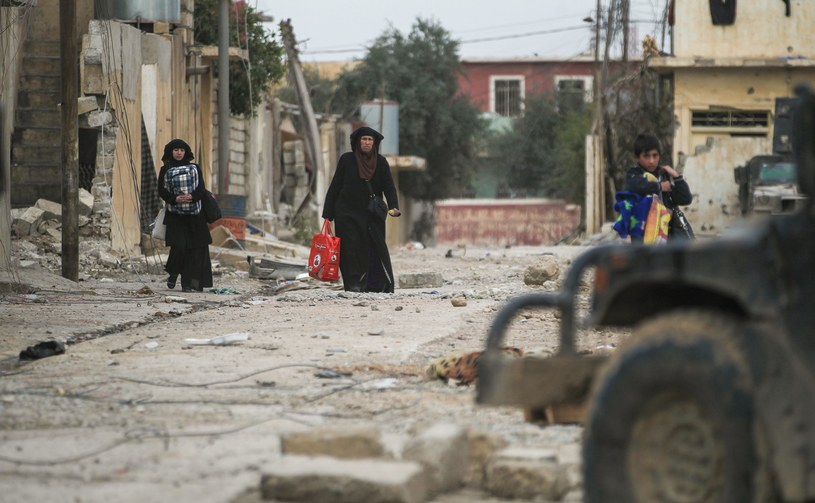 Mosul po walkach z IS /AHMAD AL-RUBAYE /AFP