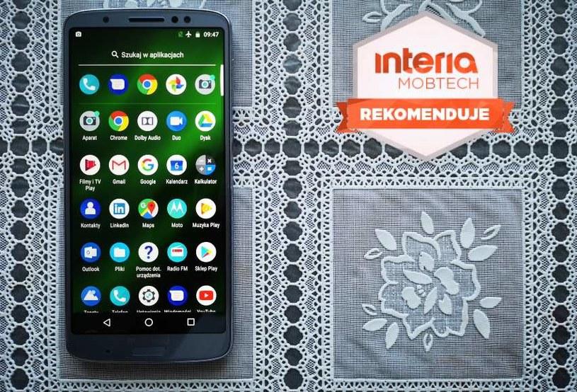 Moto G6 plus otrzymuje REKOMENDACJĘ serwisu Interia Mobtech /INTERIA.PL