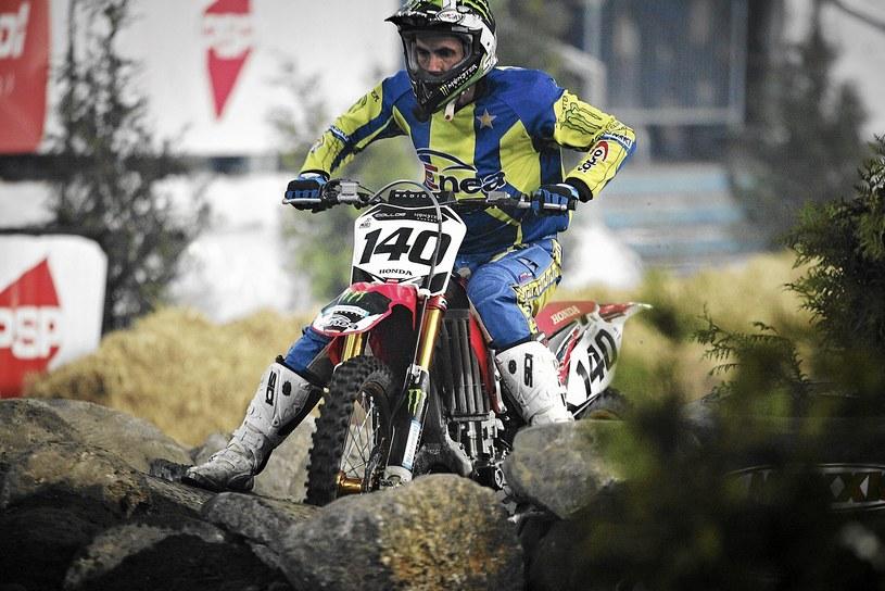 Motocross był wielką pasją Tomasza Golloba /Fot. Tomasz Stańczak /