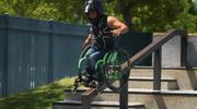 Motocross na wózku