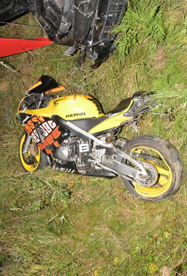 Motocykl 26-latka /Policja /