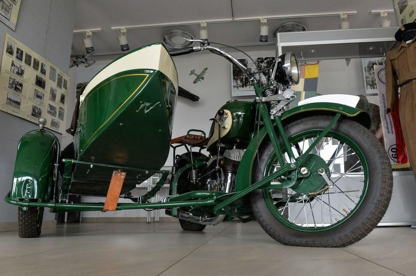 Motocykl CWS M111 Sokół /Gerard /Reporter