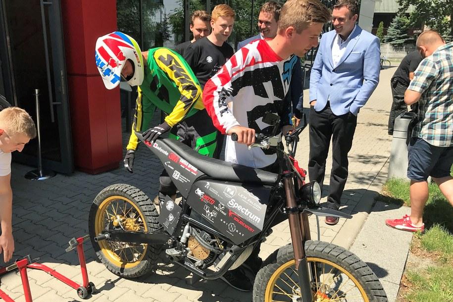 Motocykl LEM Falcon /Bartłomiej Paulus /RMF FM