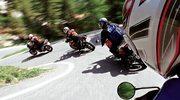 Motocykl na górskie drogi