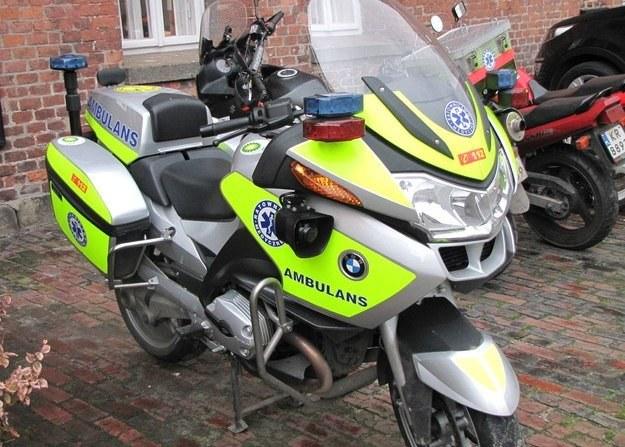 Motocykl ratunkowy /RMF