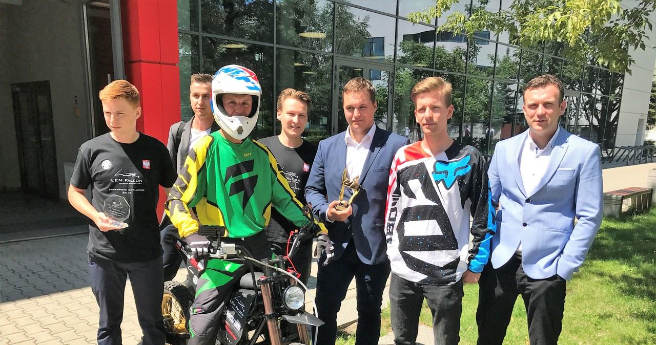 Motocykl studentów z Politechniki Wrocławskiej najlepszy w Europie