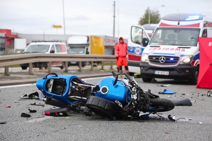 Motocykle to niebezpieczny środek transportu /fot. Paweł Relikowski/Polska Press /East News