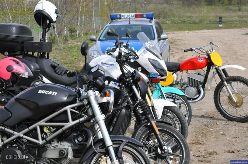 Motocykliści zdecydowanie zbyt często giną na drogach /Policja