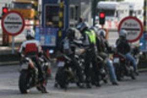 Motocykliści znowu blokują...