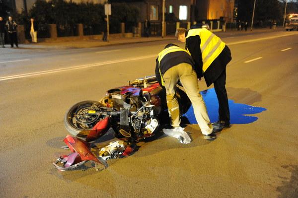 Z ustaleń policji wynika, że kierujący motocyklem nie ustąpił pierwszeństwa na pasach.