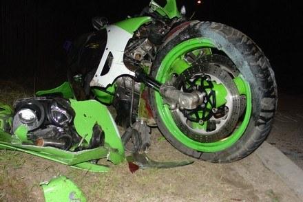 Motocyklista walczy o życie /Policja