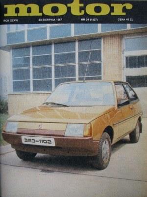 """""""Motor"""" 34/1987 /Motor"""