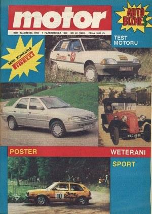 """""""Motor"""" 40/1990 /Motor"""