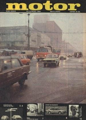"""""""Motor"""" 8/1984 /Motor"""