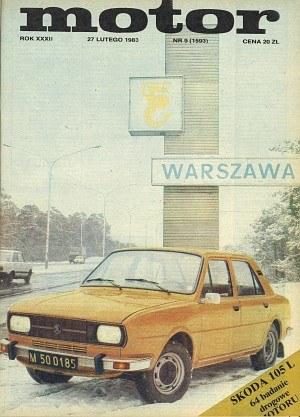 """Motor"" 9/1983 /Skoda"