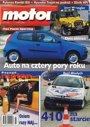 """""""Motor"""" nr 1 z 2000 r. /Motor"""