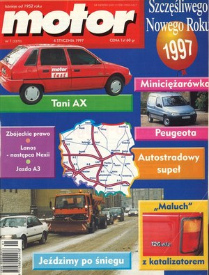 """""""Motor"""" nr 1 z 4 stycznia 1997 r. /Motor"""