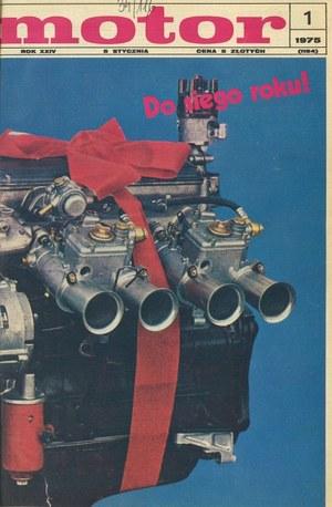 """""""Motor"""" nr 1 z 5 stycznia 1975 r. /Motor"""
