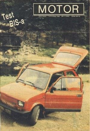 """""""Motor"""" nr 1 z 7 stycznia 1990 r. /Motor"""