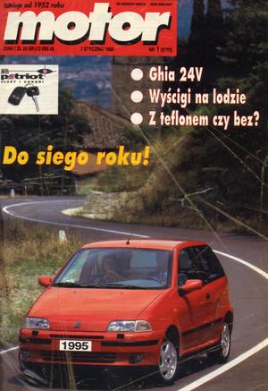 """""""Motor"""" nr 1 z 7 stycznia 1995 r. /Motor"""
