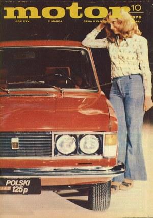 """""""Motor"""" nr 10 z 1976 r. /Motor"""