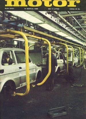 """""""Motor"""" nr 11 z 16 marca 1986 r. /Motor"""