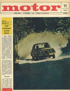 """""""Motor"""" nr 11 z 1974 r. /Motor"""