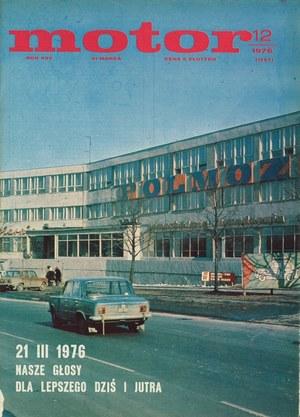 """""""Motor"""" nr 12 z 21 marca 1976 r. /Motor"""