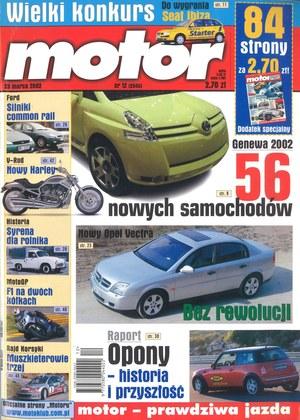 """""""Motor"""" nr 12 z 23 marca 2002 r. /Motor"""