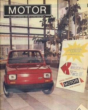 """""""Motor"""" nr 13 z 1 kwietnia 1990 roku. /Motor"""
