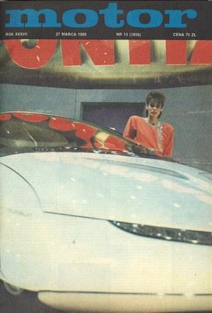 """""""Motor"""" nr 13 z 1988 r. /Motor"""