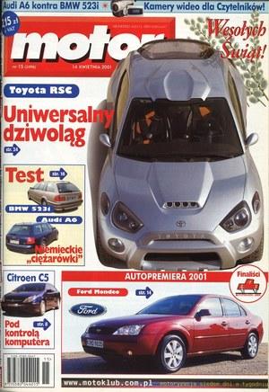 """""""Motor"""" nr 15 z 14 kwietnia 2001 r. /Motor"""