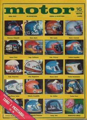 """""""Motor"""" nr 16 z 18 kwietnia 1976 r. /Motor"""