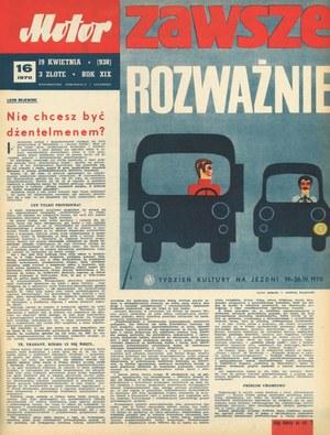 """""""Motor"""" nr 16 z 19 kwietnia 1970 r. /Motor"""
