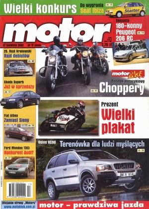 """""""Motor"""" nr 17 z 27 kwietnia 2002 r. /Motor"""