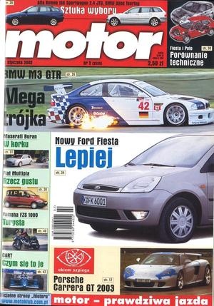 """Motor"" nr 2 z 12 stycznia 2002 roku /Motor"