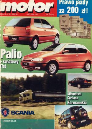 """""""Motor"""" nr 2 z 13 stycznia 1996 r. /Motor"""