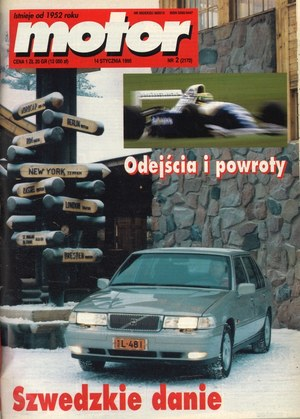 """""""Motor"""" nr 2 z 14 stycznia 1996 r. /Motor"""